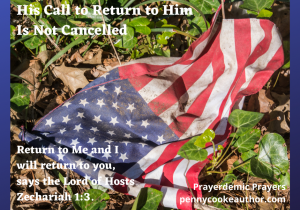 His Call to Return to Him Is Not Cancelled